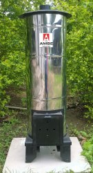 Wood Fired Water Heater 40 L