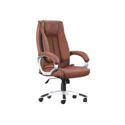 Maruthi Enterprises Brown Designer Office Chair
