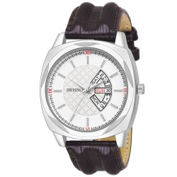Frosino FRAC061801 Analog Date & Day Function White Dial Casual Watch