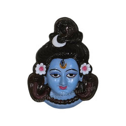 Mahadev Face Wall Hanging Statue