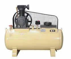 Single Stage Two Piston Air Compressor