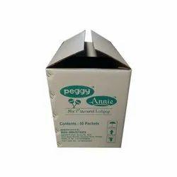 Brown Bio-degradable Printed Corrugated Carton Box