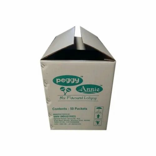 Brown Bio-degradable Printed Corrugated Carton Box