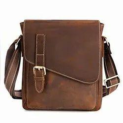One Side Men Leather Bag