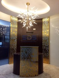 Stainless Steel 304 PVD Titanium Coated Screen