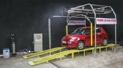 Car Washing System Automatic Underbody Car Washing System