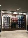Shirt Display Wall - Shop Fixtures