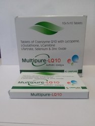 Coenzyme Q10 Lycopene L-Glutathione LCarnitine L-Tartrate Selenium Zinc Oxice Tablets