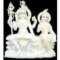 Marble Shiv Parvati Moortis