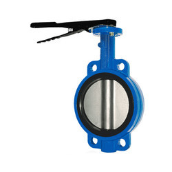 Cast Iron Semi Lugged Butterfly Valve