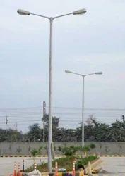 Double Arm Pole