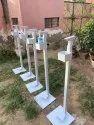 Foot Pedal Sanitizer Machine