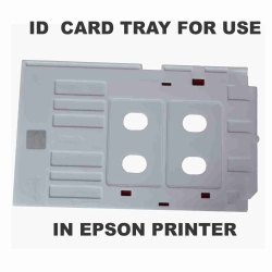 DDS PVC ID Card Tray For Inkjet Printer Epson L800,805,810,850
