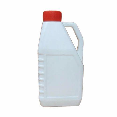 White 2 Litre Coolant HDPE Plastic Can