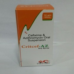 Cefixime & Azithromycin Oral Suspension