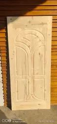 somnath Interior pain wood door, For Home, Size: Custemised