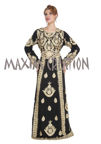 54b4ec3ce9aa7 Abaya Kaftan - Oriental Robe For Arabian Women Exporter from Mumbai