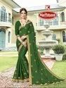Embroidery & Stone Work Saree - Bhargavi