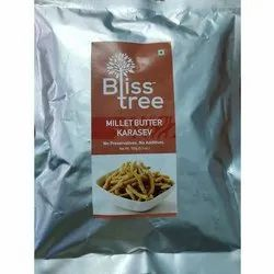 Bliss Tree Millet Kara Sev Namkeen, Packaging Size: 150 G