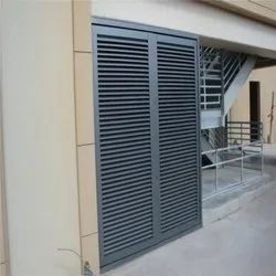 Fixed Louver Door