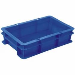 43100 CL Blue Plastic Crate