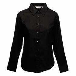 Women Polycotton Shirt - Logo Printed - Bulk Order Discount Applicable