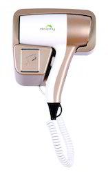Golden Hair dryer for hotels