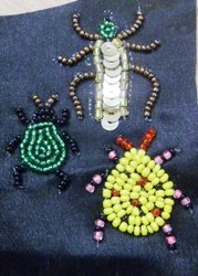 Animal Beaded Patches