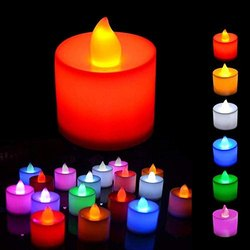 Ceramic 5000-6500 K LED Candle Light, B22