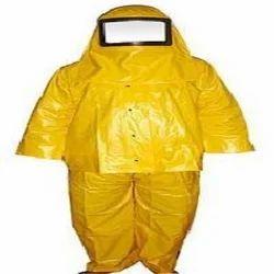 Unisex Medium Chemical Resistant PVC Suits