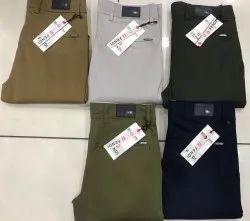 Cotton Plain Trousers, Size: 28-36