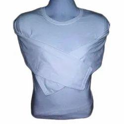 Plain Ladies White Cotton Top