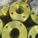 Zinc Electroplating Flange ( Yellow )
