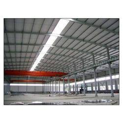 Mild Steel Industrial PEB Structural Shed