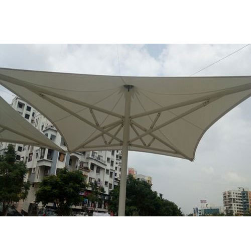 PVC Tensile Awning Structure