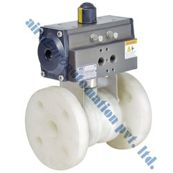 Pneumatic Polypropylene Ball Valve