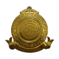 Police Gold Plated Medal
