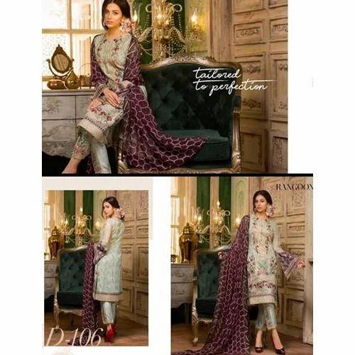 09b8c43ce4 Ladies Embroidered Pakistani Suit, Rs 650 /suit, Paradise Cotton ...