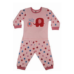 Cotton Baby Top Pajama, Age : 1-3 Years