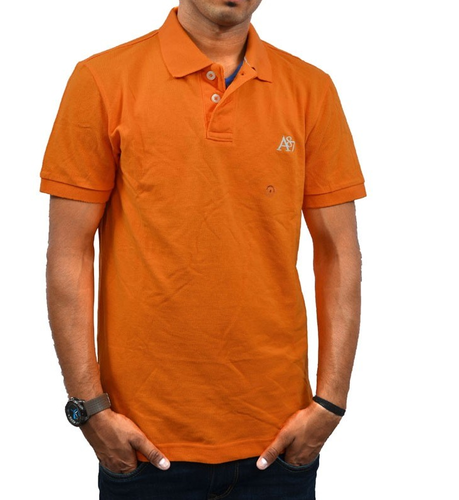 1562b89b Plain Aeropostale Men's POLO T-Shirt Orange, Rs 2221 /piece | ID ...