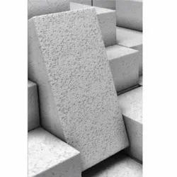 Greyish White Autoclaved Aerated Concrete Block, For Construction