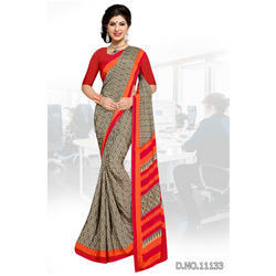 Printed Uniform Sarees