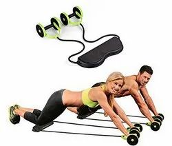 Foldable Revoflex Xtreme Rally Multifunction Pull Rope Wheeled Health Abdominal