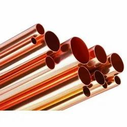 Polished Round Copper Pipes, for Oil Cooler Pipe