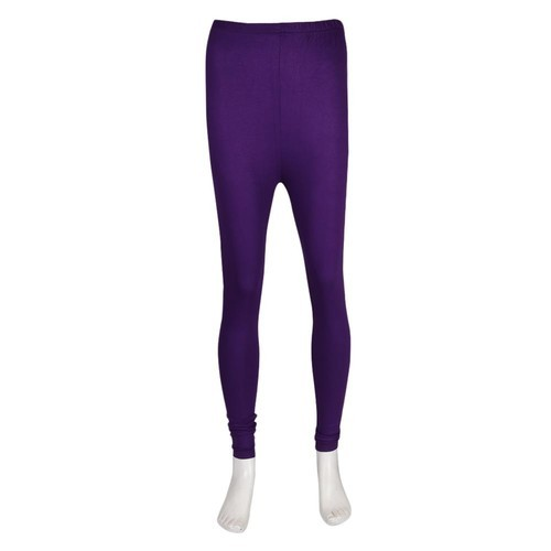564863d55928f Violet Hosiery Ladies Plain Purple Leggings, Size: S And XXL, Rs 150 ...
