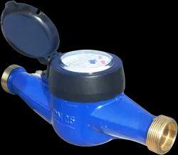 Belanto Copper Alloy Multi Jet Dry Type Water Meter, For Residential, Model: DN15
