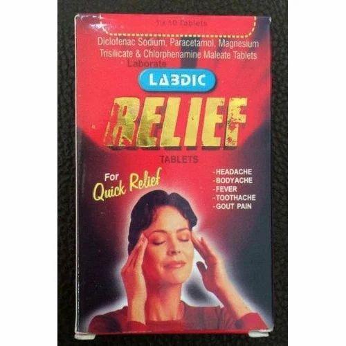 Labdic Relief Tablet, 1x10 Tablets, Regal Sales Agencies