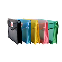 Clip Type Plastic Transperent Document File, For Office, Paper Size: Fc