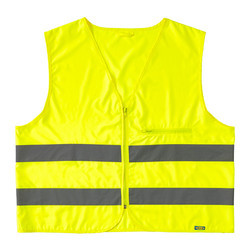 Polyester Medium And Large High Visibility Jacket
