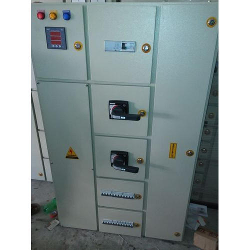 Mild Steel Single Phase Electrical Distribution Panel, IP Rating: IP33